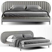布斯内利床头板床 3d model