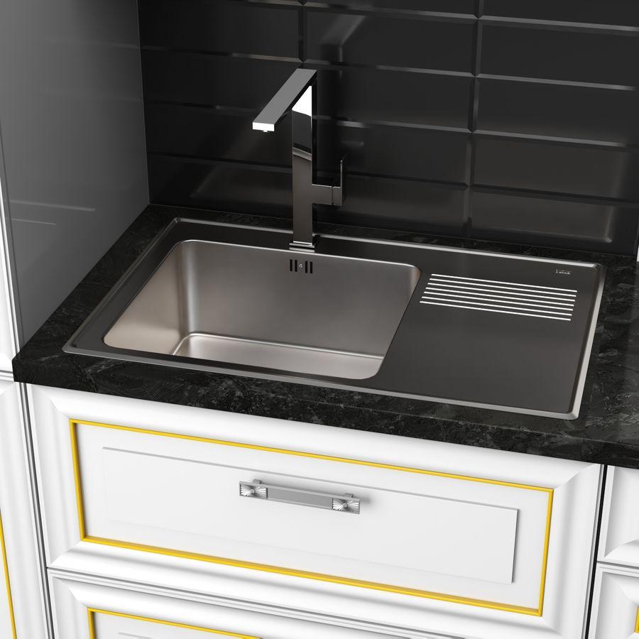 Kitchen Veneto royalty-free 3d model - Preview no. 6