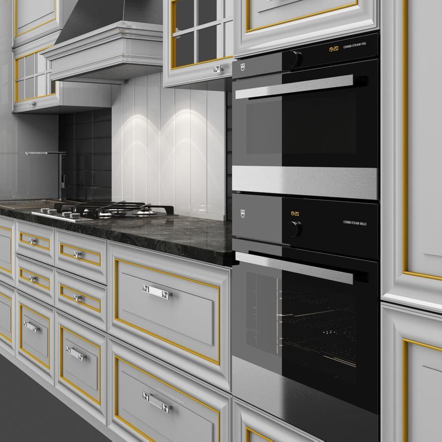 Kitchen Veneto royalty-free 3d model - Preview no. 4