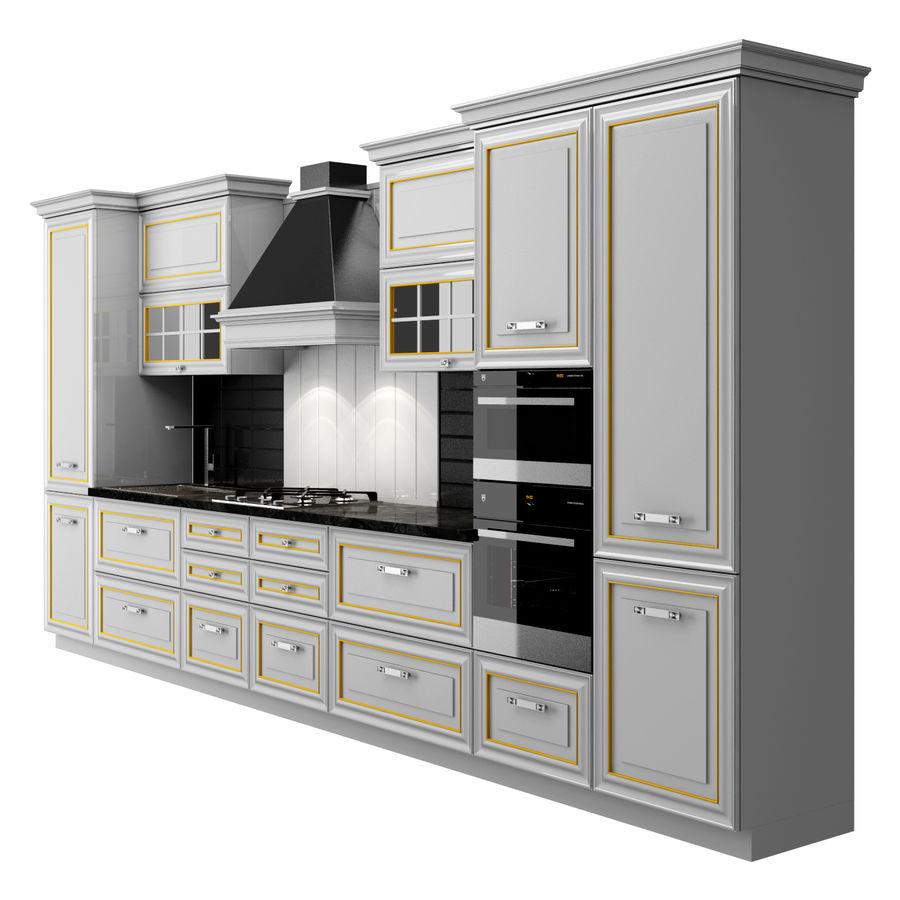 Kitchen Veneto royalty-free 3d model - Preview no. 3