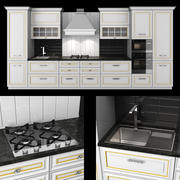 Kitchen Veneto 3d model