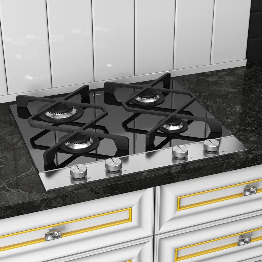 Kitchen Veneto royalty-free 3d model - Preview no. 5