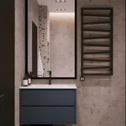 Cuarto de baño moderno interior escena y corona Render modelo 3d