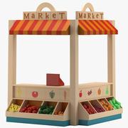 Farmers Market 3d model