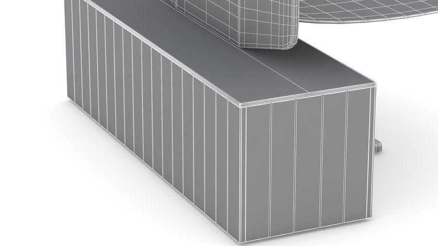 Bureau Herman Miller Locale 2 royalty-free 3d model - Preview no. 36