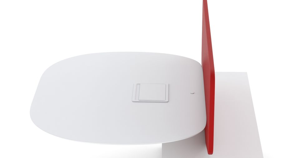Bureau Herman Miller Locale 2 royalty-free 3d model - Preview no. 19