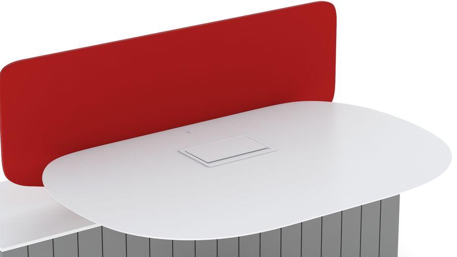 Bureau Herman Miller Locale 2 royalty-free 3d model - Preview no. 12