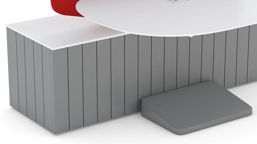 Bureau Herman Miller Locale 2 royalty-free 3d model - Preview no. 13