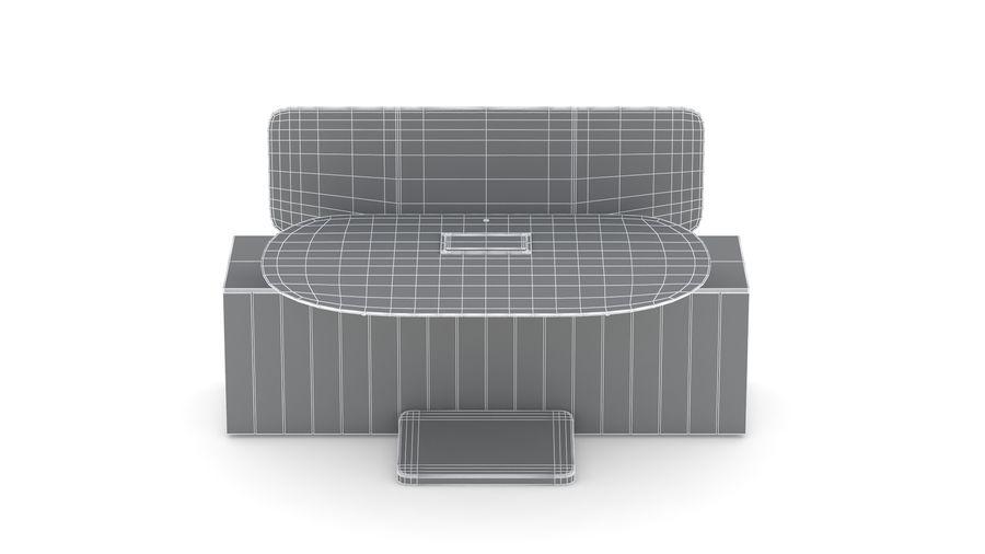 Bureau Herman Miller Locale 2 royalty-free 3d model - Preview no. 30