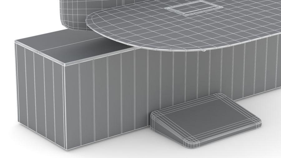 Bureau Herman Miller Locale 2 royalty-free 3d model - Preview no. 33