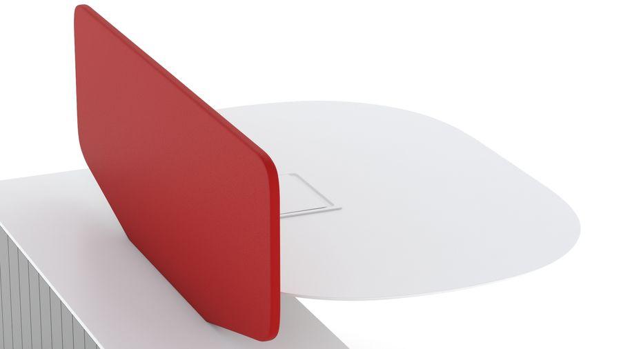 Bureau Herman Miller Locale 2 royalty-free 3d model - Preview no. 15