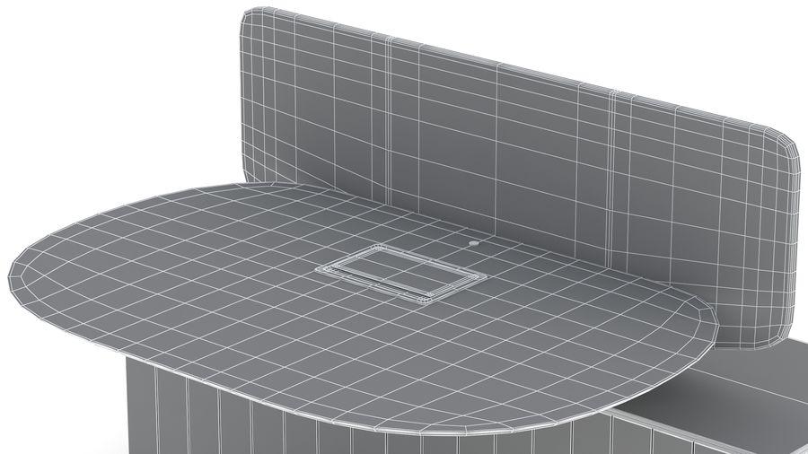 Bureau Herman Miller Locale 2 royalty-free 3d model - Preview no. 41