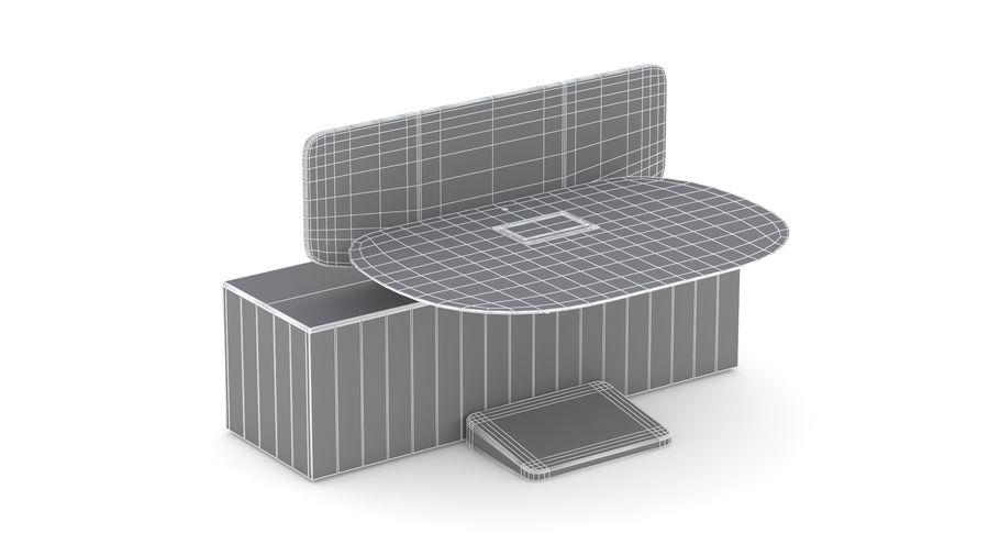 Bureau Herman Miller Locale 2 royalty-free 3d model - Preview no. 22