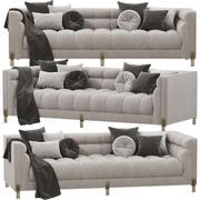 艾希霍兹SIENNA沙发 3d model