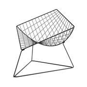 Krzesło wypoczynkowe w stylu vintage z drutu Oti firmy Niels Gammelgaard dla IKEA 3d model