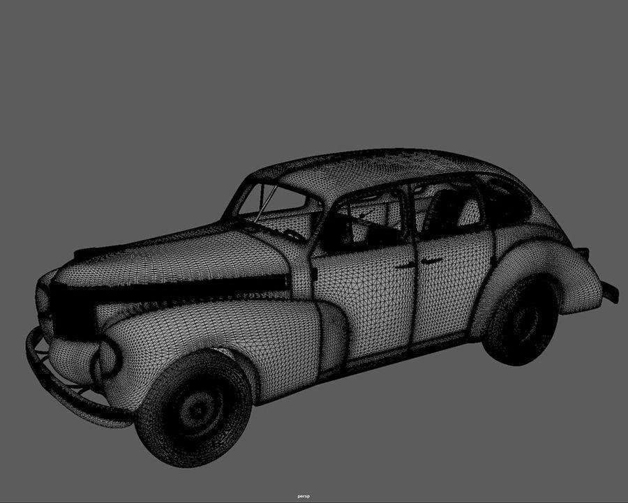 car_0031 royalty-free 3d model - Preview no. 6
