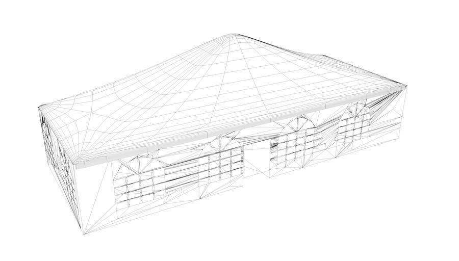 tente royalty-free 3d model - Preview no. 2
