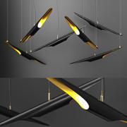 샹들리에 BLACK 3d model