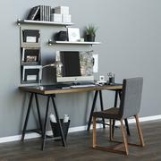 Çalışma masası ikea LINNMON ODVALD 3d model
