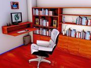 Home Office 3d model