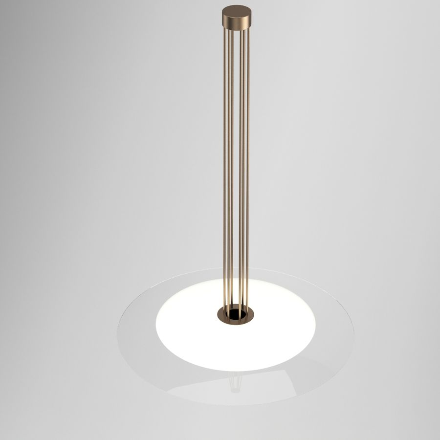 Lamp 65 royalty-free 3d model - Preview no. 2