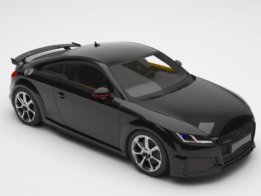 Audi car royalty-free 3d model - Preview no. 1