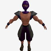 닌자 검투사 3d model