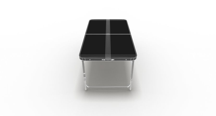 Folding Table royalty-free 3d model - Preview no. 38
