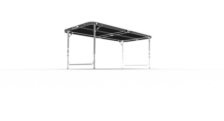 Folding Table royalty-free 3d model - Preview no. 40