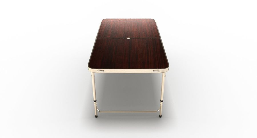 Folding Table royalty-free 3d model - Preview no. 3
