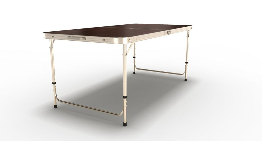 Folding Table royalty-free 3d model - Preview no. 15