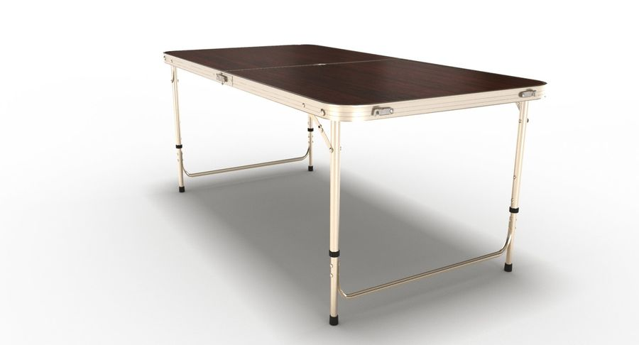 Folding Table royalty-free 3d model - Preview no. 18