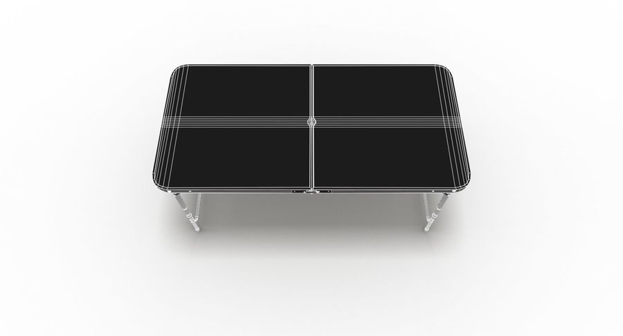 Folding Table royalty-free 3d model - Preview no. 42