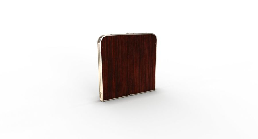 Folding Table royalty-free 3d model - Preview no. 29