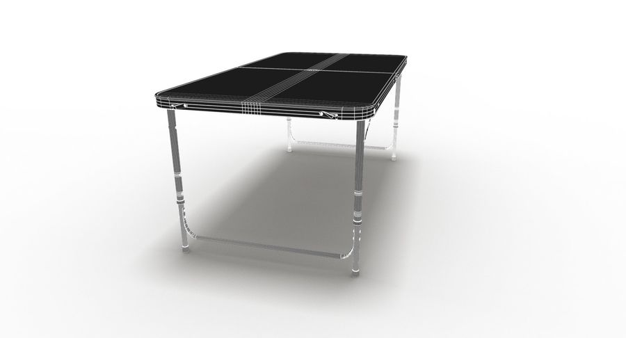 Folding Table royalty-free 3d model - Preview no. 39