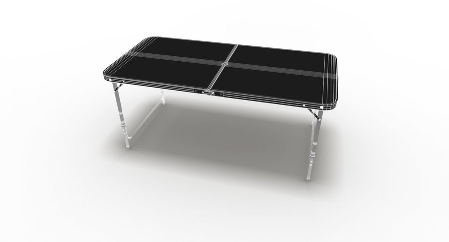 Folding Table royalty-free 3d model - Preview no. 43