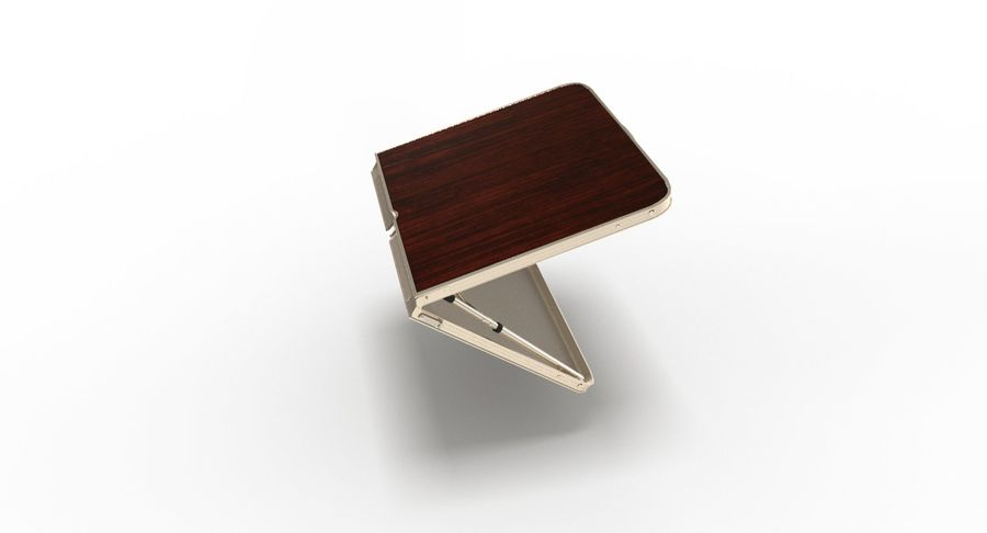 Folding Table royalty-free 3d model - Preview no. 32
