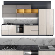 Kitchen Start Time 3d model