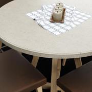 Stół i krzesło 3d model