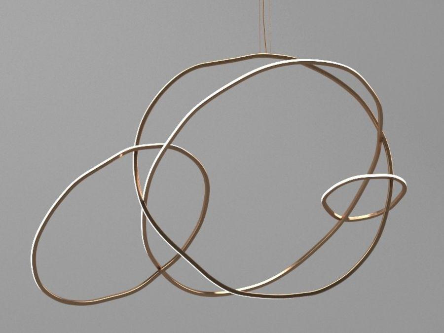 Lampadario di oggetti di scena royalty-free 3d model - Preview no. 2