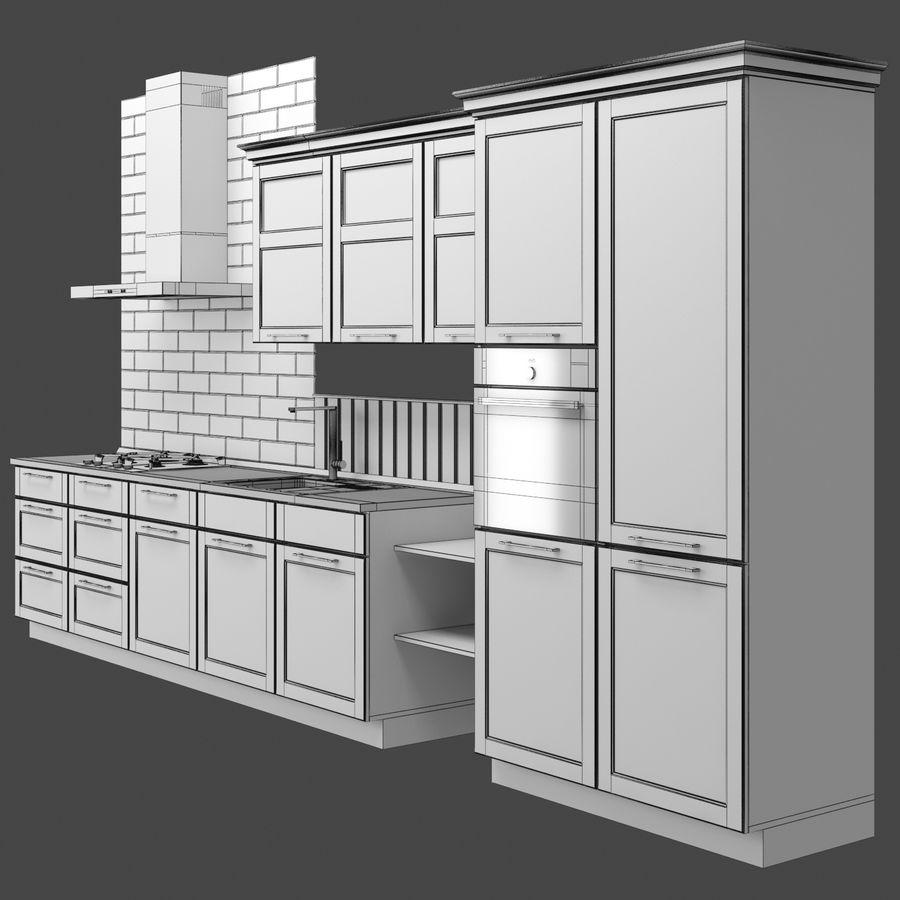布里斯托厨房 royalty-free 3d model - Preview no. 4