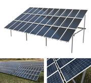 3x10 фотоэлектрических солнечных батарей 3d model