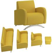 conjunto de sofá 13 3d model
