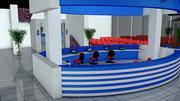 Sjukhusgolv 3d model