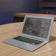 MacBook Air 3d model