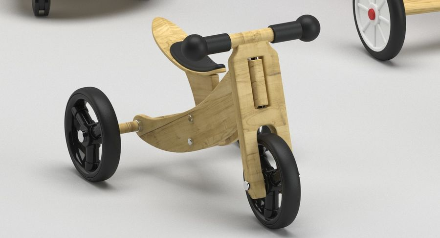 Toy Ride na zabawkach royalty-free 3d model - Preview no. 2