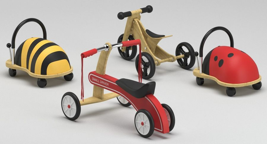Toy Ride na zabawkach royalty-free 3d model - Preview no. 8