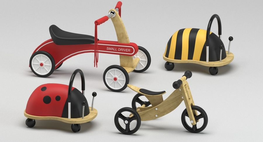 Toy Ride na zabawkach royalty-free 3d model - Preview no. 7