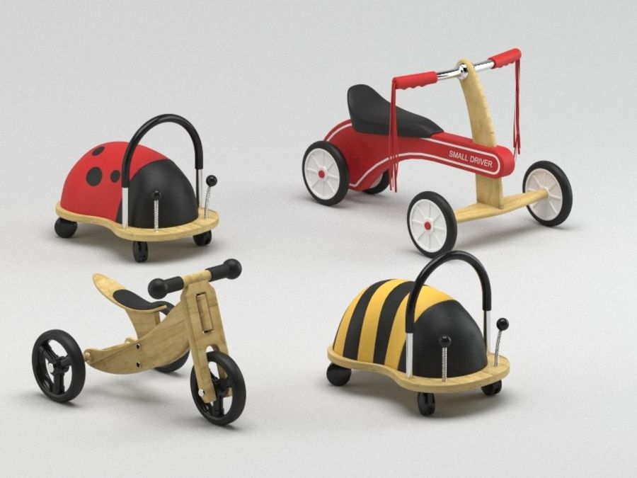 Toy Ride na zabawkach royalty-free 3d model - Preview no. 5