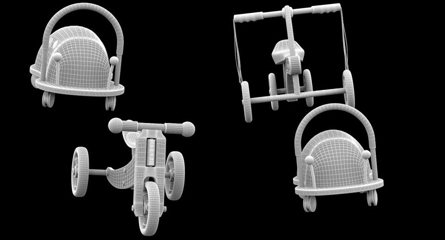 Toy Ride na zabawkach royalty-free 3d model - Preview no. 11